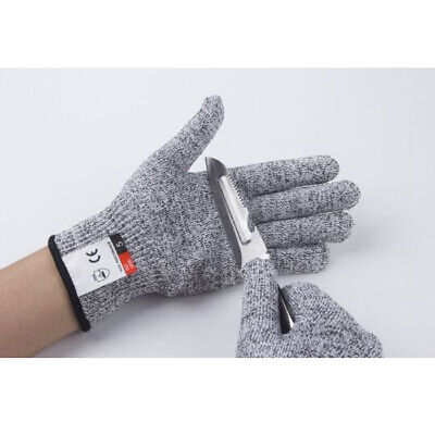 Cut Resistant Safety Work Gloves Stab Proof Labor Butcher - Level 5 Protection