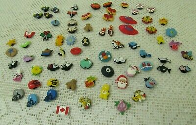 72-Croc Shoe Charms Mixed Lot FREE SHIPPING