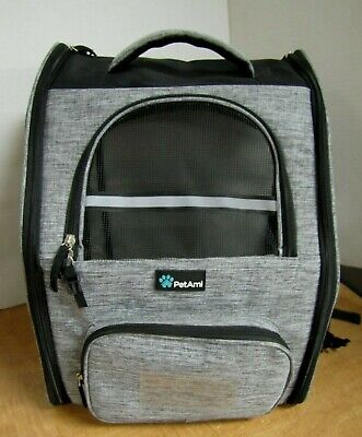 PetAmi Pet Carrier Backpack for Cat Small Dog Travel Hiking Airline Approved