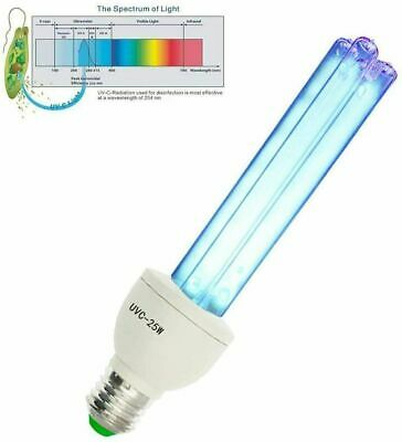 UVC Lamp 254nm Germicidal Antimicrobial 25W or 36 W optional base and remote