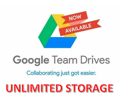 Unlimited Google Drive Storage/ Cloud Drive