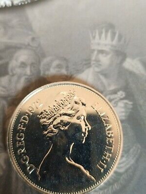 1972 ROYAL MINT PROOF TEN PENCE COIN - None issued for Circulation - SCARCE