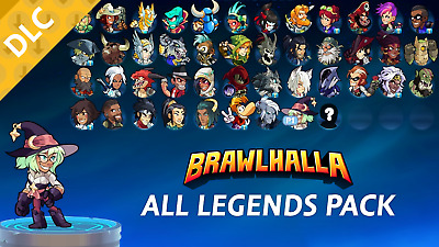 Brawlhalla - All Legends Pack Code (STEAM PC / Region Free)