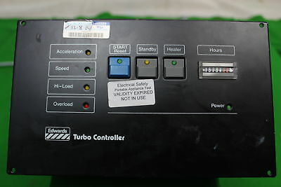 Edwards EXC 200 Turbo Pump Controller UHV Vacuum