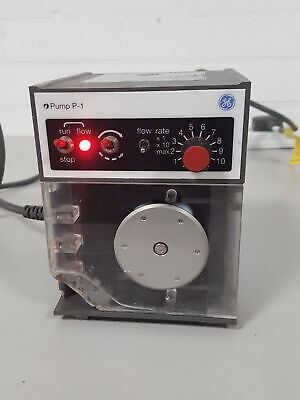 GE Healthcare Peristaltic Pump P-1 Lab Equipment