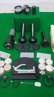 Selection of Carl Zeiss Microscope Accessories / Parts Stage Lenses Heads
