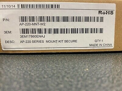 Ap-220-Mnt-W2 Wall Mount Kit - Wireless Access Point - New In Box