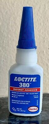Loctite - Loctite 380 Instant Adhesive -1-oz Black - Glue -USA  -SAVE 💰🏝