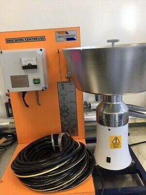 Armfield Disc Bowl Centrifuge FT15-A 125l/hr Lab Seperation