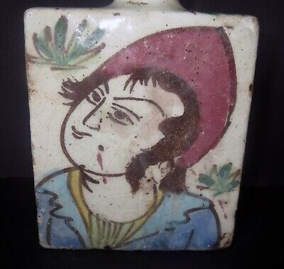 Antique Chinese POTTERY SPICE SCENT BOTTLE VASE - ANCIENT ASIAN ANTIQUITY