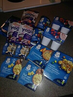 LOT SALE ( GERBER BABY FOOD ) discounted for someone who needs this.  $()