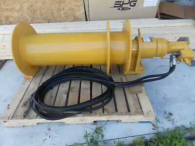 Bloom Lift-Safe LS22K Planetary Hydraulic Cable Winch, 8700LB