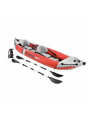 Canoa gonfiabile Intex 68309 Excursion Pro 2 persone remi pompa Kayak 2019