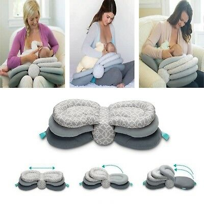 Adjustable Nursing Pillow Breastfeeding Layered Baby Pillow Infant Cushion New
