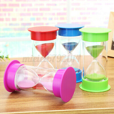 1pc Large Sand Egg Hourglass Timer Teaching Games SEN ADHD ASD 3//5//10//15 Minutes