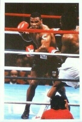 MIKE TYSON Boxing Card - UK Question of Sport 1987 ROOKIE Mint condition
