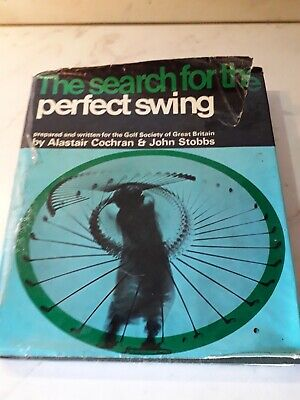 GOLF - TECNICA -  The search for the perfect swing - 1969 - English text- RARO