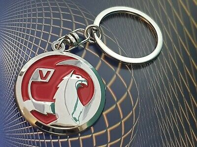 New Logo Vauxhall Car Keyring with Free Red Velvet Pouch Gift Idea S1R