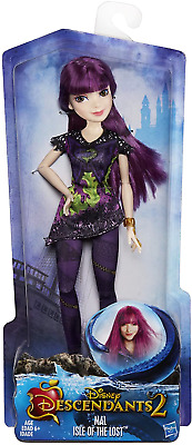 Girls Doll Toy Disney Descendants Mal Isle of the Lost Fashionable Figure New