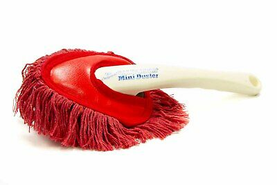 California Car Duster 62448 Mini Duster Paraffin Baked Cotton in Red