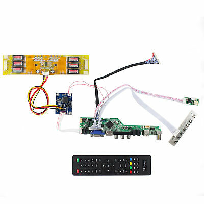 Fit To 20.1inch LM201U05 1600x1200 LCD Screen HDMI VGA AV USB RF LCD Driver