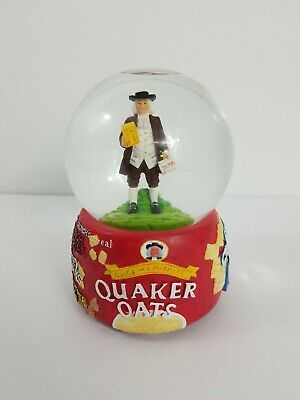 RARE Quaker Oats Snow Globe Limited Edition Hand Numbered Premiere Edition Y2K