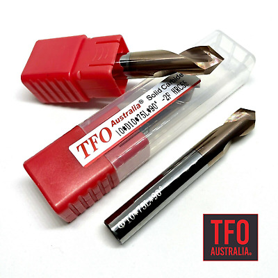 6mm TFO Solid Carbide 4 Flute End Mill !!! CNC Cutter Spotting Chamfer Lathe
