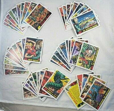 Topps Heritage 2012 Mars Attacks 55 card complete base set