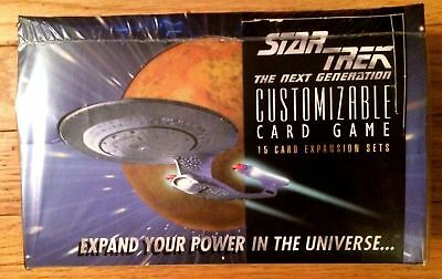 Star Trek CCG 1E Beta Unlimited Sealed 15 Card Booster Pack