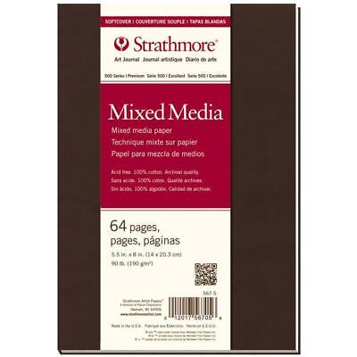 Strathmore Art Journal - Mixed Media - Softcover - Small - 64 Pages
