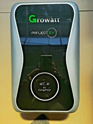 Growatt EV Charger 7KW Type 2 untethered single phase 32A EVA-07S