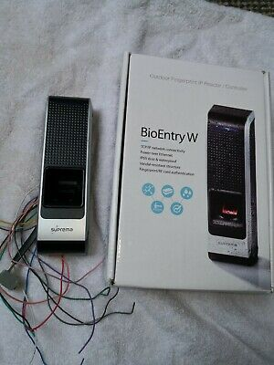 Suprema Bio Entry W indoor/outdoor Biometric reader