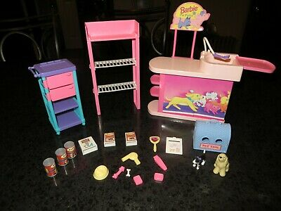 Barbie So Much To Do! Pretty Pet Parlor Playset