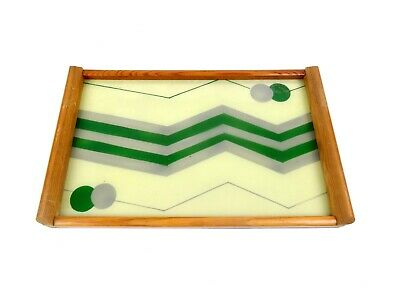 German Suprematism Art Deco Cocktail Tray Geometric Bauhaus Cubist 1930