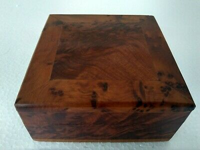 Vintage Men S Wood Roll Top Organizer Jewelry Box Very Good Condition 20 00 Picclick
