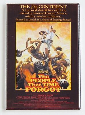 "The People That Time Forgot FRIDGE MAGNET movie poster ""style A"""