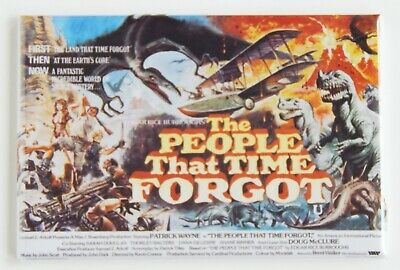 "The People That Time Forgot FRIDGE MAGNET movie poster ""style B"""