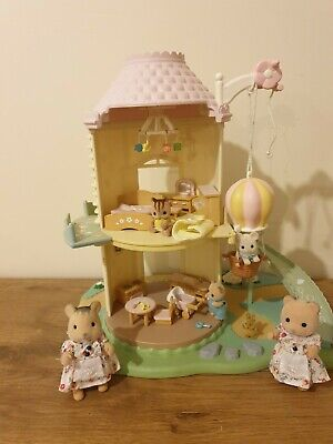 Rare Sylvanian Families Primrose Baby windmill, Figures, Furniture Accessories