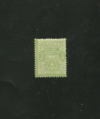 GERMANY LOCAL BERLIN  mint hinged stamp 1886 #8