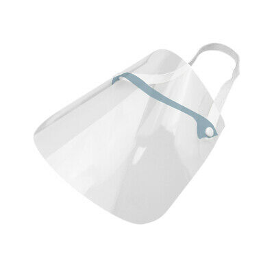 New Safety Face Shield Protection Cover Guard Reusable Transparent Anti-Saliva