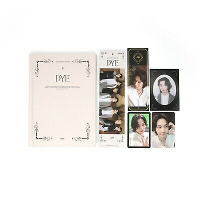 [GOT7] Mini Album / DYE / Not By The Moon / Ver. 2 (B) Album + 2 JB pcs