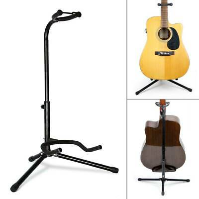 Telescopic Guitar Stand Acoustic/Electric/Bass Adjustable Folding Tripod Stand A