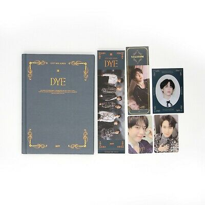 [GOT7] Mini Album / DYE / Not By The Moon / Ver. 3 (C) Album + 2 Yugyeom pcs