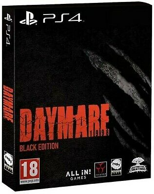 Daymare 1998 Black Edition PS4 PlayStation 4 VideoGame Mint Condition UK Release