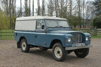 Land Rover Series 3 1 owner from new, only 38000 miles and totally original.