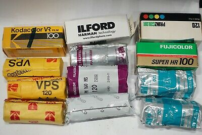 16 Rolls of 120 Roll film for Medium Format Camera, for Lomo Kodak Ilford Fuji
