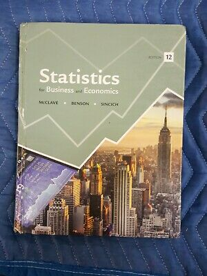 Statistics for Business and Economics [12th Edition]