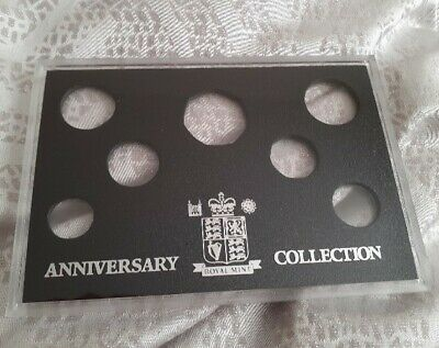 Genuine Royal Mint  Proof Anniversary coin case Holder. No coins