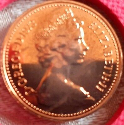 1973 1p and half penny coins. Low Mintage of proof. Wow excellent for year