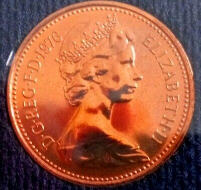 1976 1p and half penny proof Coins. Mint perfect, low Mintage of proof